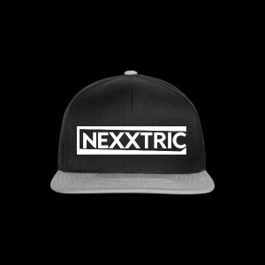 logo blanc NEXXTRIC - Casquette snapback