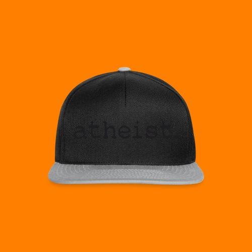 atheist BLACK - Snapback Cap