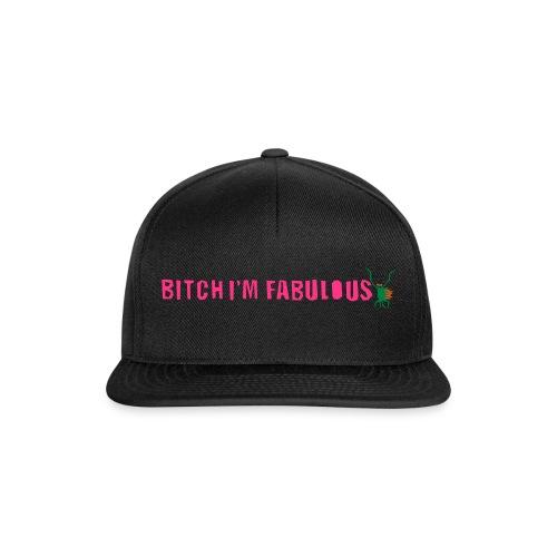 Bitch, I'm fabulous modliszka, długie - Czapka typu snapback