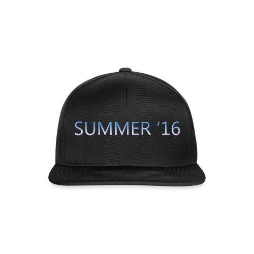 SUMMER 16 t-shirt WOMEN - Snapback Cap