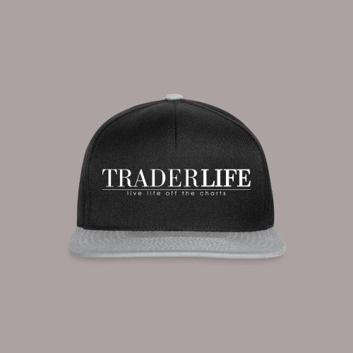 TraderLife Logo White - Snapback Cap
