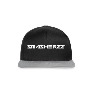 Smasherzz pet grijs/zwart - Snapback cap