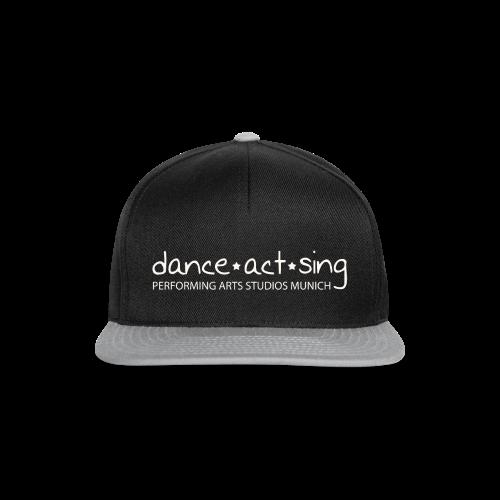 Dance!Sing!Act! *weiss* - Snapback Cap