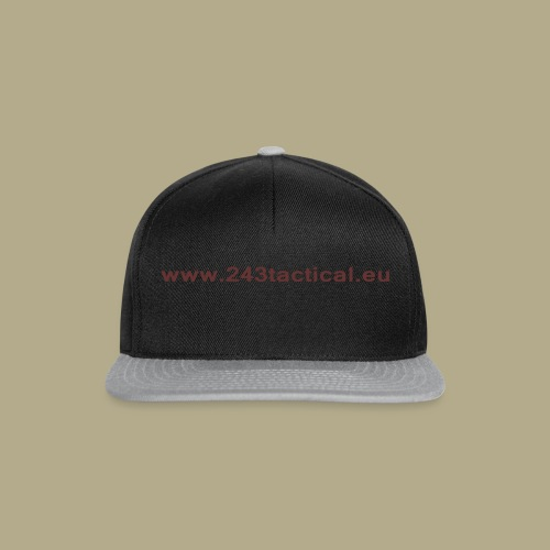 .243 Tactical Website - Snapback cap