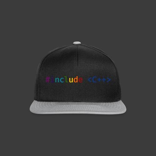 Rainbow Include - Snapback Cap