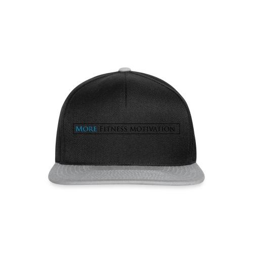 Fitness Motivatie shirt wit/groen - Snapback Cap