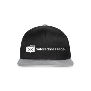 Tailored Message Black Tee - Snapback-caps