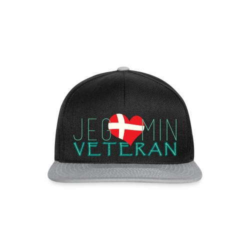 Jeg Elsker Min Veteran - Snapback Cap