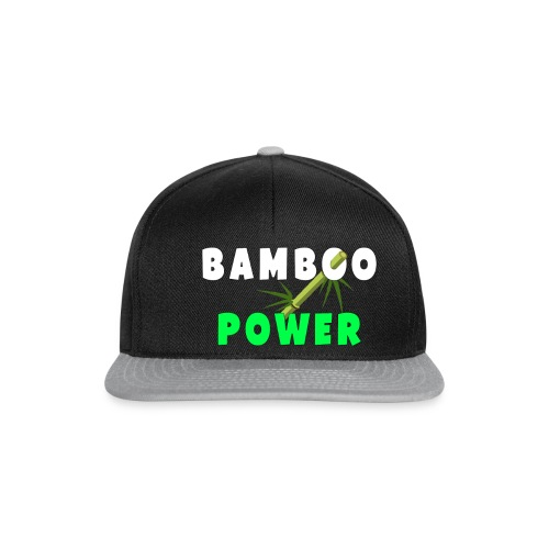 Bamboo Power T-shirt - Snapback cap
