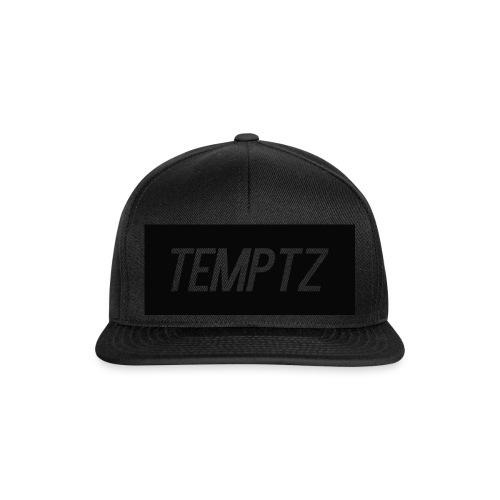 TempTz Orignial Hoodie Design - Snapback Cap