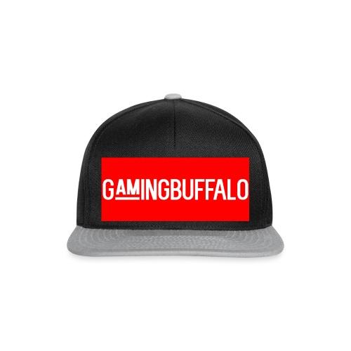 Long Logo RED - Snapback Cap