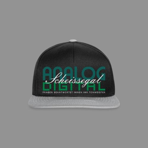 Analog, Digital, Scheissegal... - Snapback Cap