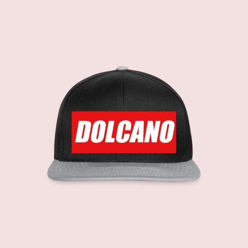 DOLCANO Box Logo Short Sleeved T-Shirt. - Snapback Cap
