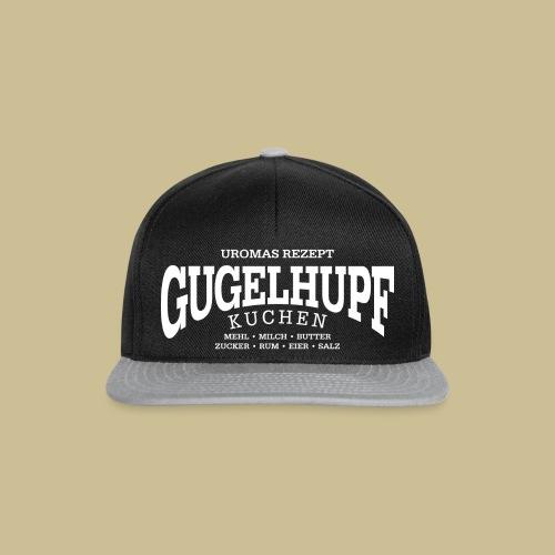 Gugelhupf (white) - Snapback Cap