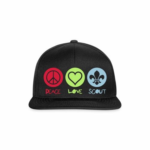 Peace Love Scout - Casquette snapback