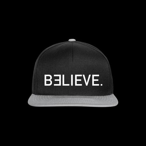Believe Logo - Snapback Cap
