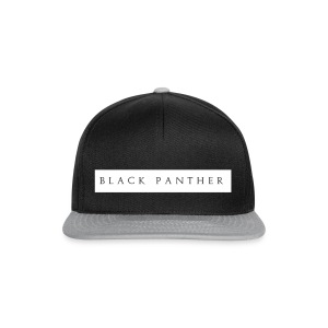 Black-Panther-White-Text - Snapback-caps