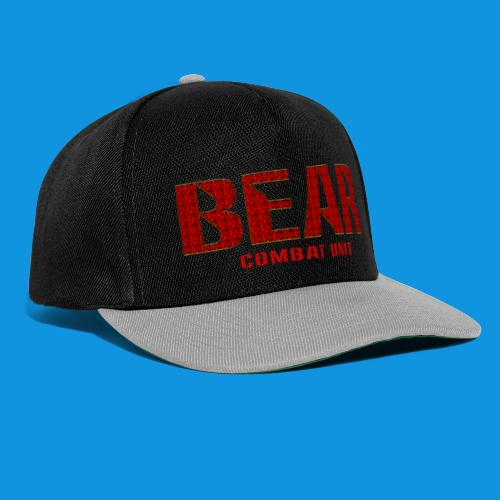 Bear Combat Unit Retro Bag - Snapback Cap