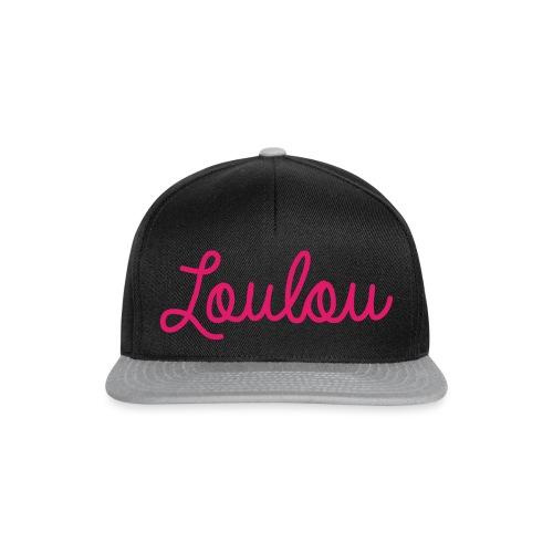 Logo-Roze - Snapback cap