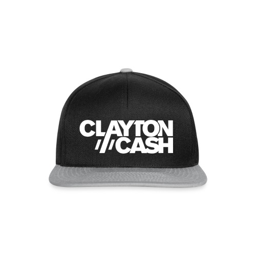 Clayton Cash Black/White - Snapback cap