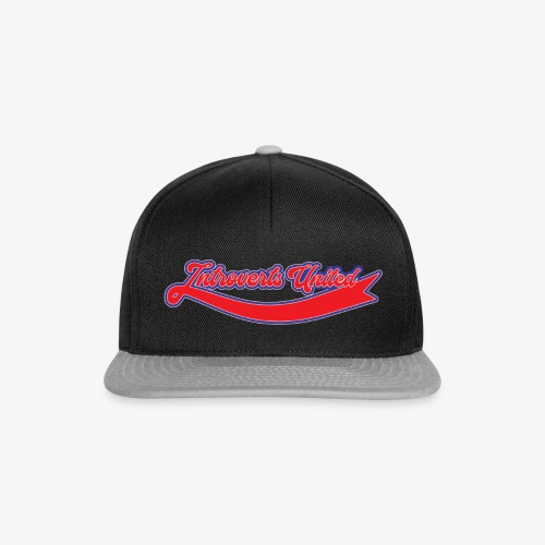 Introverts United - Casquette snapback