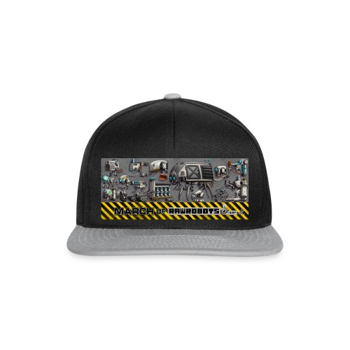 #MarchOfRobots ! LineUp Nr 1 - Snapback Cap