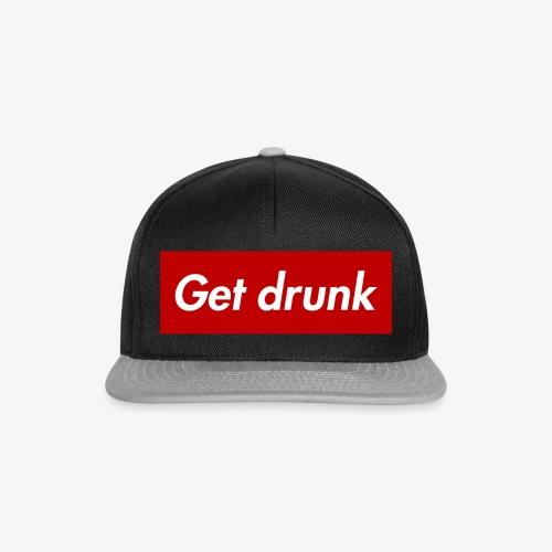 Get drunk - Snapback Cap