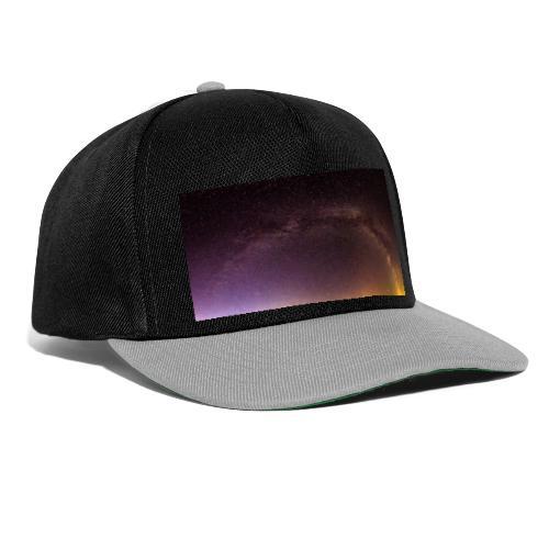 Milchstraße Panorama - Snapback Cap