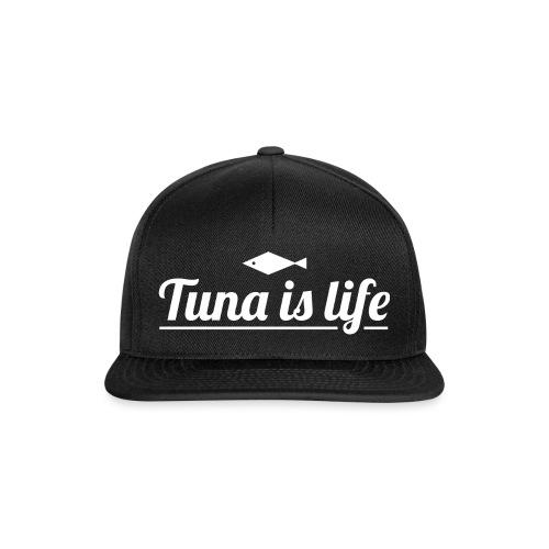 Tuna is Life Hoodie - Black - Snapback Cap