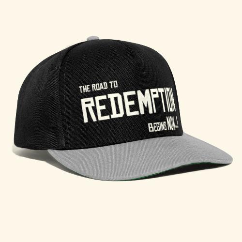 Wild West Game Text Design - Snapback Cap