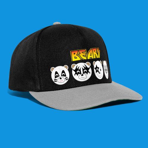 Kiss Bears.png - Snapback Cap