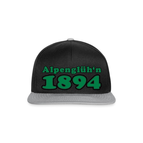 1894 Alpenglüh'n individualisierbar - Snapback Cap