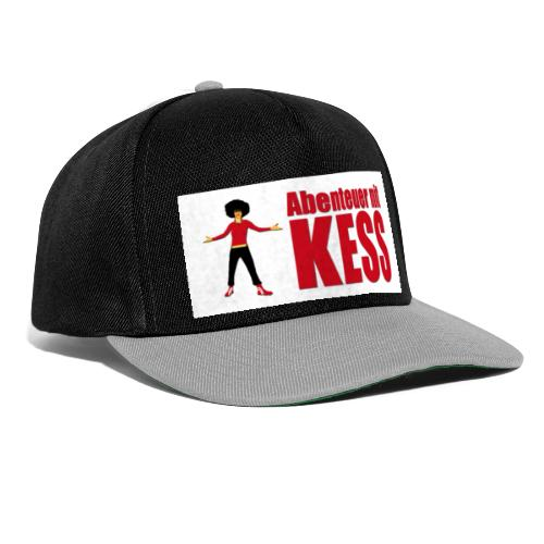 KESS-Logo weiß - Snapback Cap