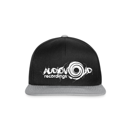 AudioVoid White Logo - Snapback Cap