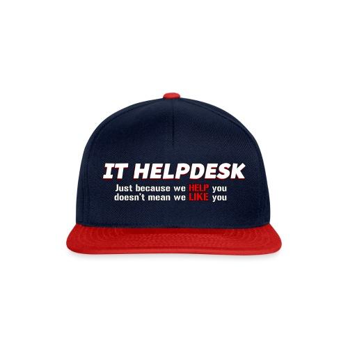 I.T. HelpDesk - Snapback Cap