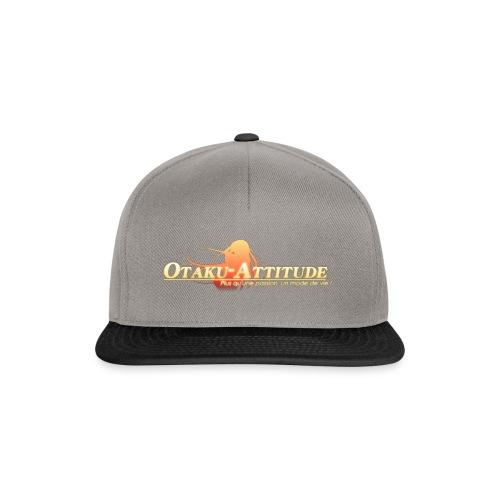 logo oa v3 v1 fond clair - Casquette snapback