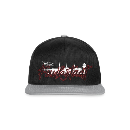 Funkstadt Nauen white / red - Snapback Cap