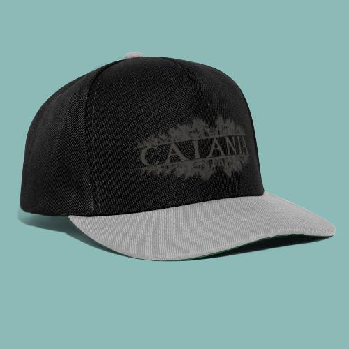 Caiania-logo harmaa - Snapback Cap