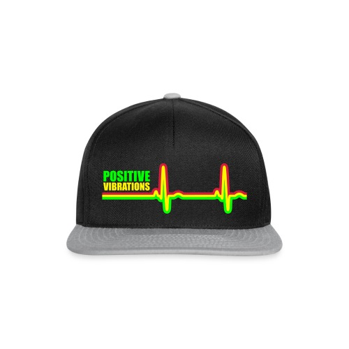POSITIVE VIBRATION - Snapback Cap