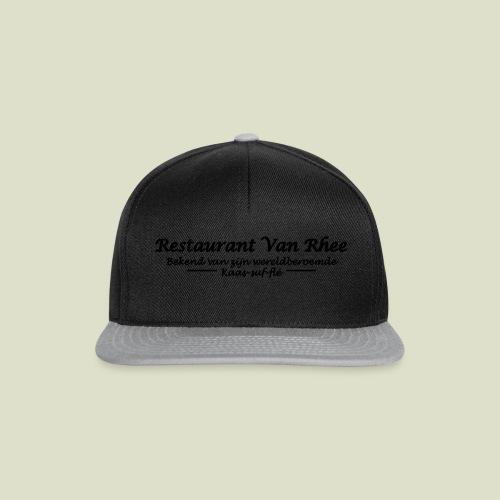 Van Rhee Kaas-suf-fle - Snapback cap