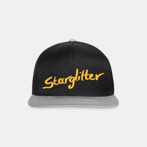 Starglitter - Lettering - Snapback Cap