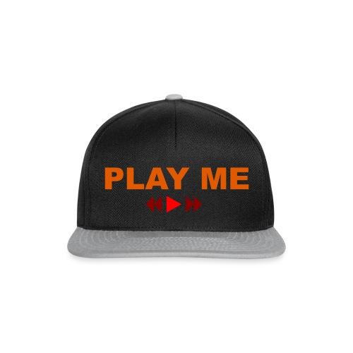 Play Me - Snapback cap