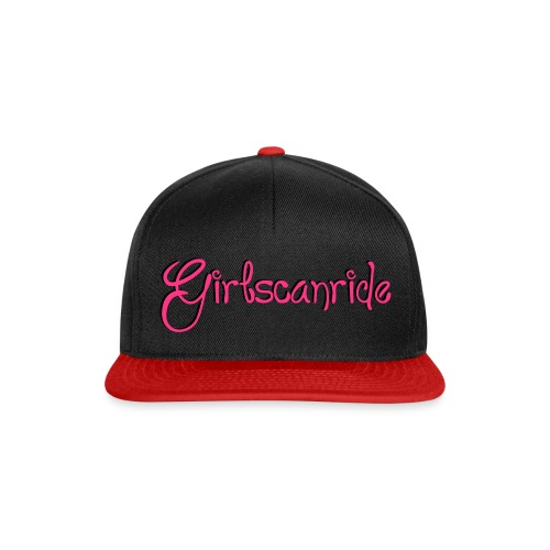 Longboard Skateboard Girls Can Ride - Snapback Cap