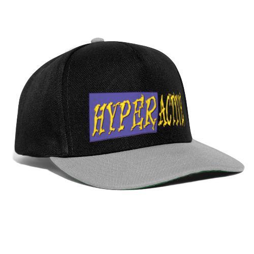 Hyperactive Graphics #1 - Snapback Cap