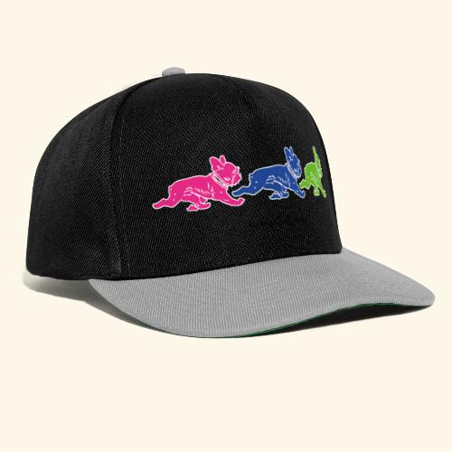 frenchies multicolor - Casquette snapback