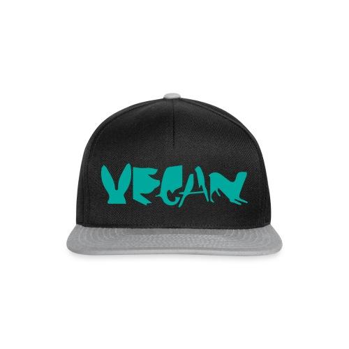 camiseta diseño vegano, vegetariano para hombre - Gorra Snapback