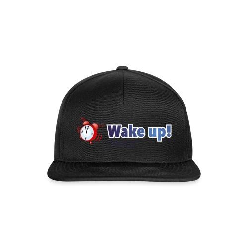 Logo zonder boog blauw - Snapback cap