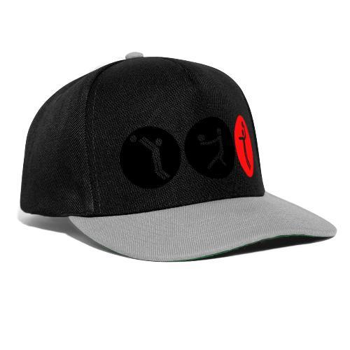 Volleyball symbole bicolor - Snapback Cap