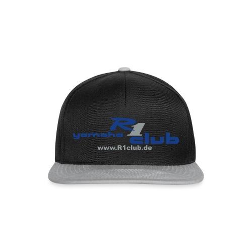 R1club Logo blau - Snapback Cap