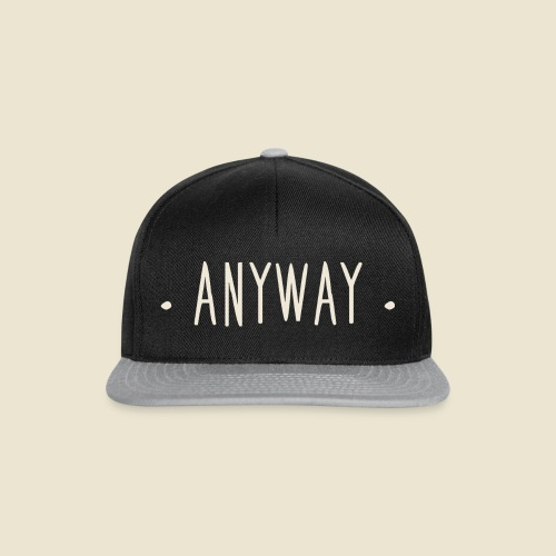 Anyway - Casquette snapback